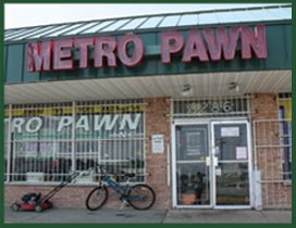 Metro Pawn offers interst free loans and best prices on gold